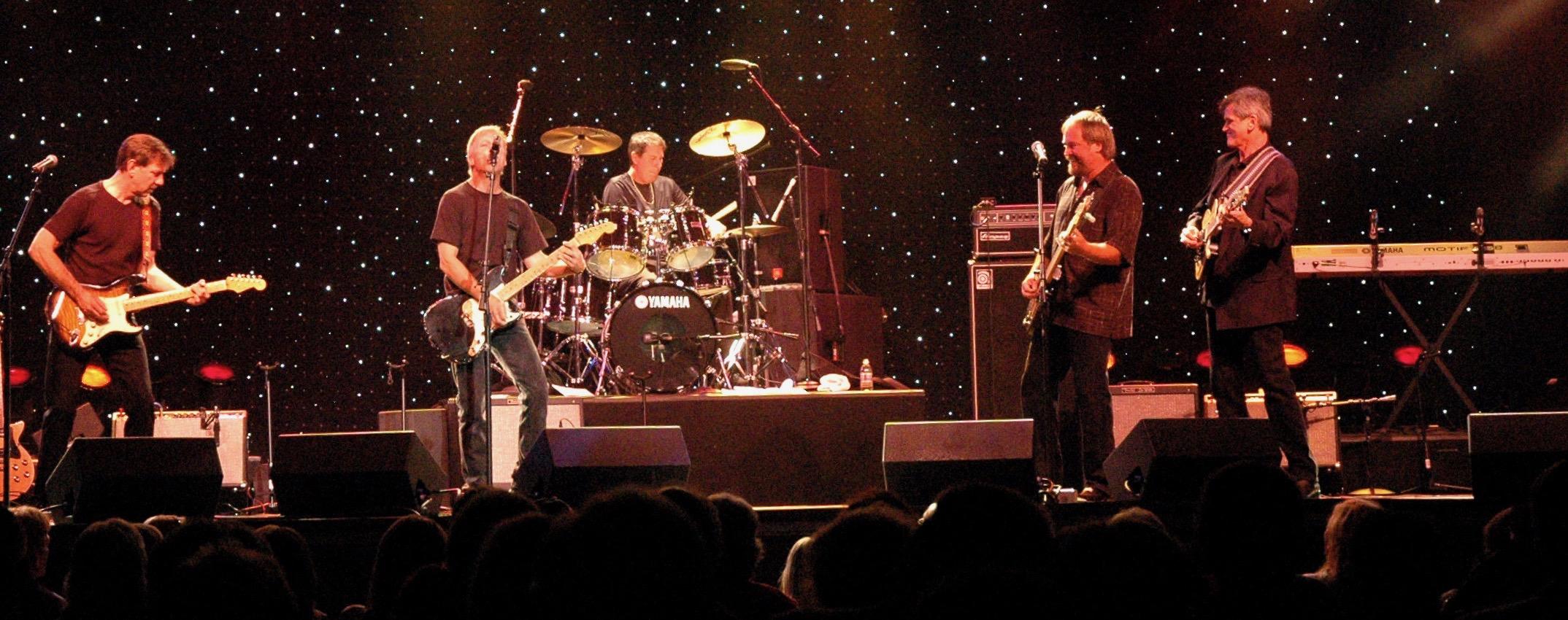 The Kingsmen on Stage