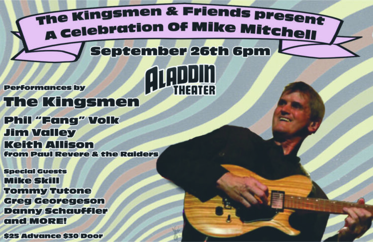 The Kingsmen & Friends Celebrate Mike Mitchell